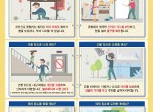 지진 발생시 상황별 행동요령